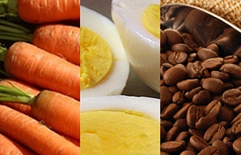 _carrot-egg-coffee-bean