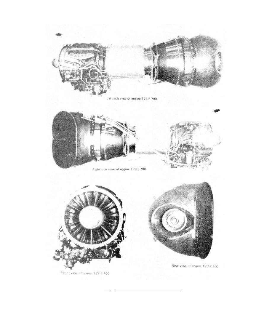 Figure 8-1. T73-P-700 Gas Turbine Engine.