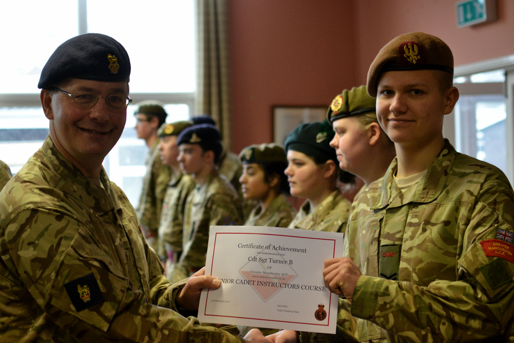 Cadet Success on the Senior Cadet Instructors Course | The Official GMACF Blog
