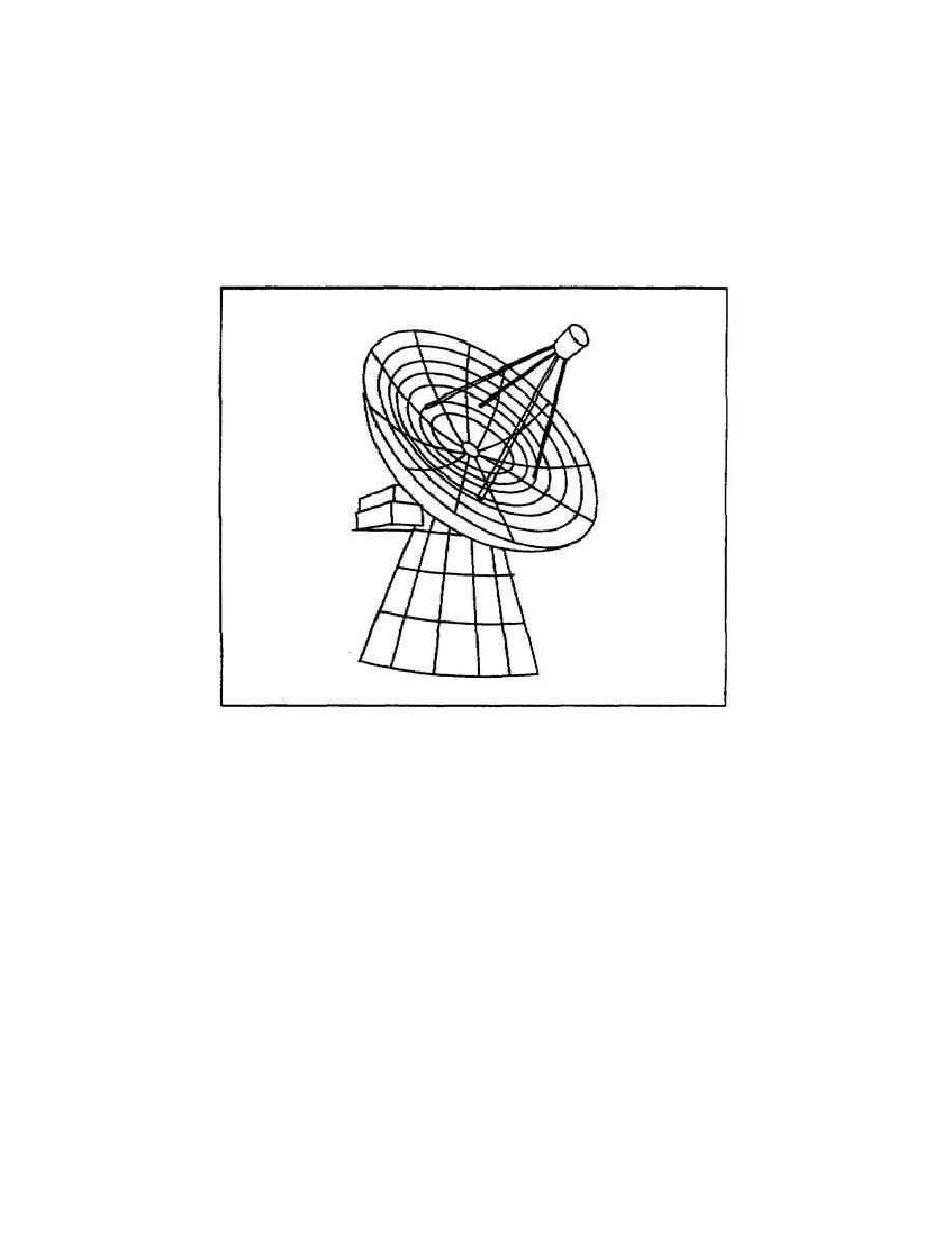 Figure 1-7. A satellite tracking antenna.