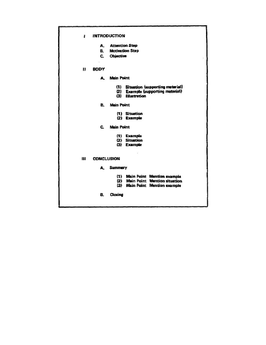 Figure 1-2. A typical outline
