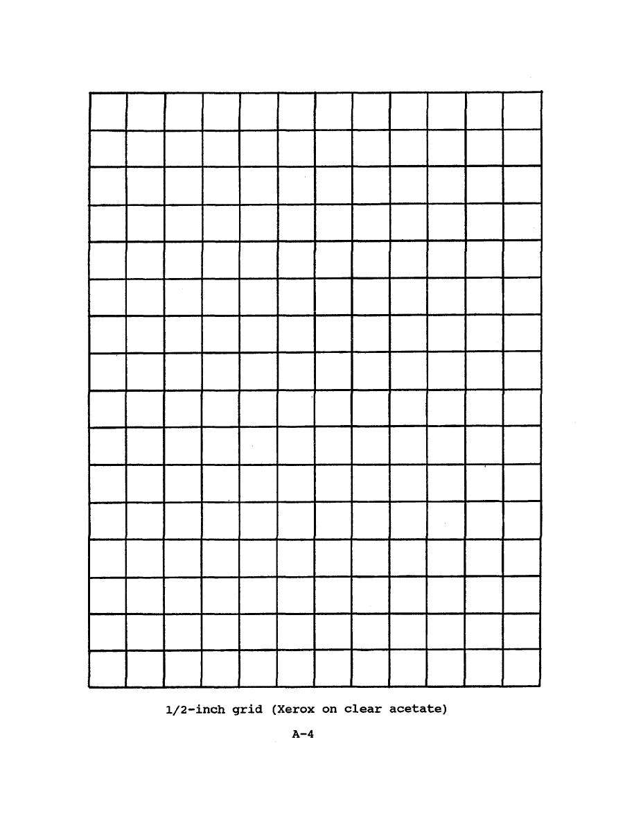 1/2-inch grid (xerox on clear acetate)