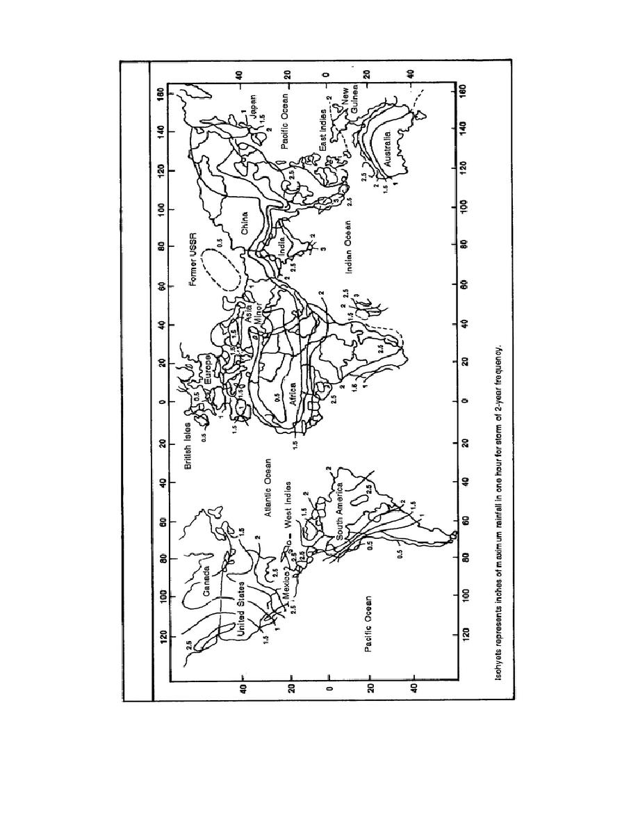 Figure 1-4. World isohyetal map