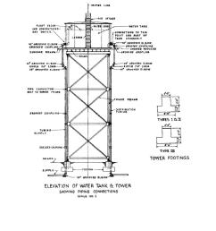 typical water tank ad tower detail plumbing diagram  [ 918 x 1188 Pixel ]
