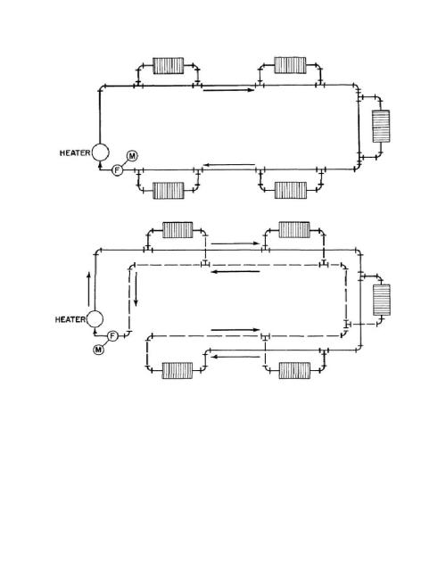 small resolution of one pipe hot water heating system diagram