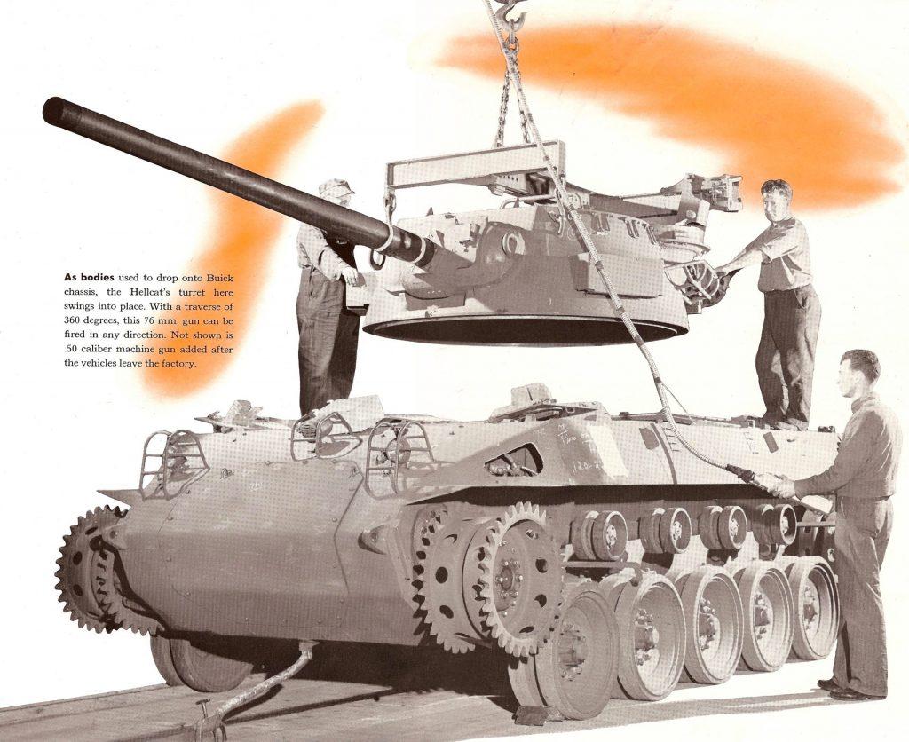 the m18 hellcat tank