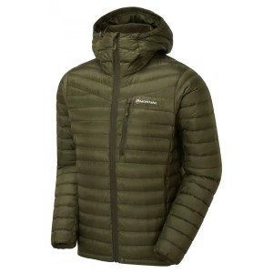 Montane Men's Featherlite Down Jacket – Olive Green