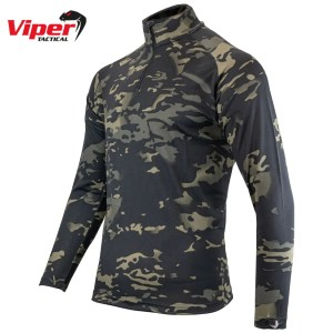 Viper Mesh-tech Armour Top – VCAM Black