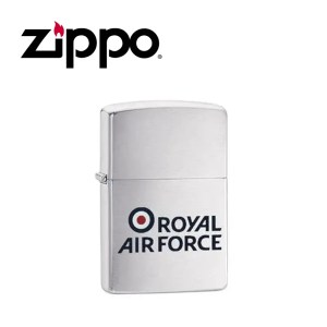 Zippo Royal Air Force Lighter – Brushed Chrome
