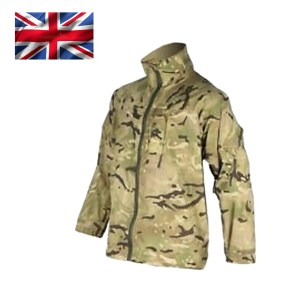 British Army Lightweight Waterproof MVP Jacket – MTP – Grade 1