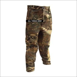British Army Waterproof GTX Zip-Ankle Trousers – MTP – Grade 1