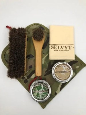 Boot Care Kit | Selvyt | Leder Gris | Leder Glos | Brushes