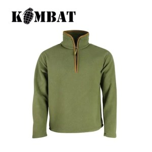 Huntsbury Country Fleece Pullover – Olive Green