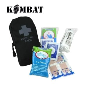 Kombat 1st Aid Kit – Black