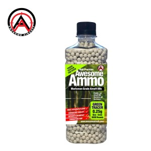 0.25g Tracer Awesome Airsoft High Precision Marksman Grade BB