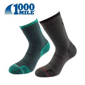 1000 Mile WALKING SOCK Twin Pack