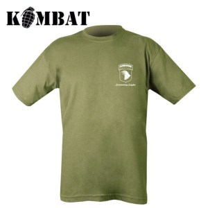 Airborne Tour T-shirt – Olive Green