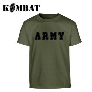 Army T-shirt – Olive Green