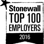 Stonewall Top 100 Employer 2016