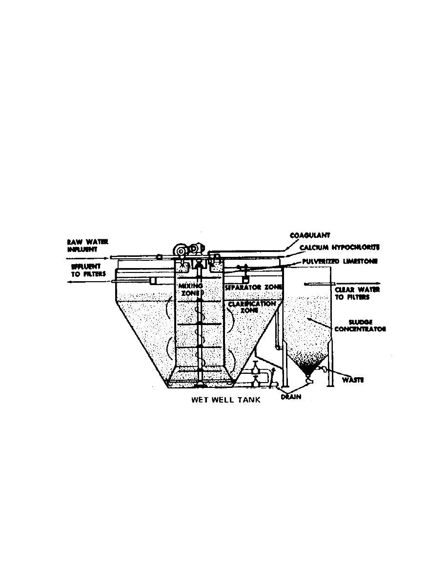Figure 5-2. Continuous-flow coagulation assembly