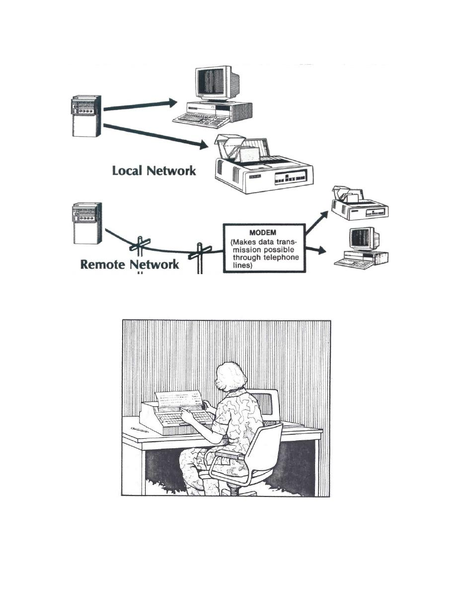 Figure 3-7. Location of peripheral devices may be local or
