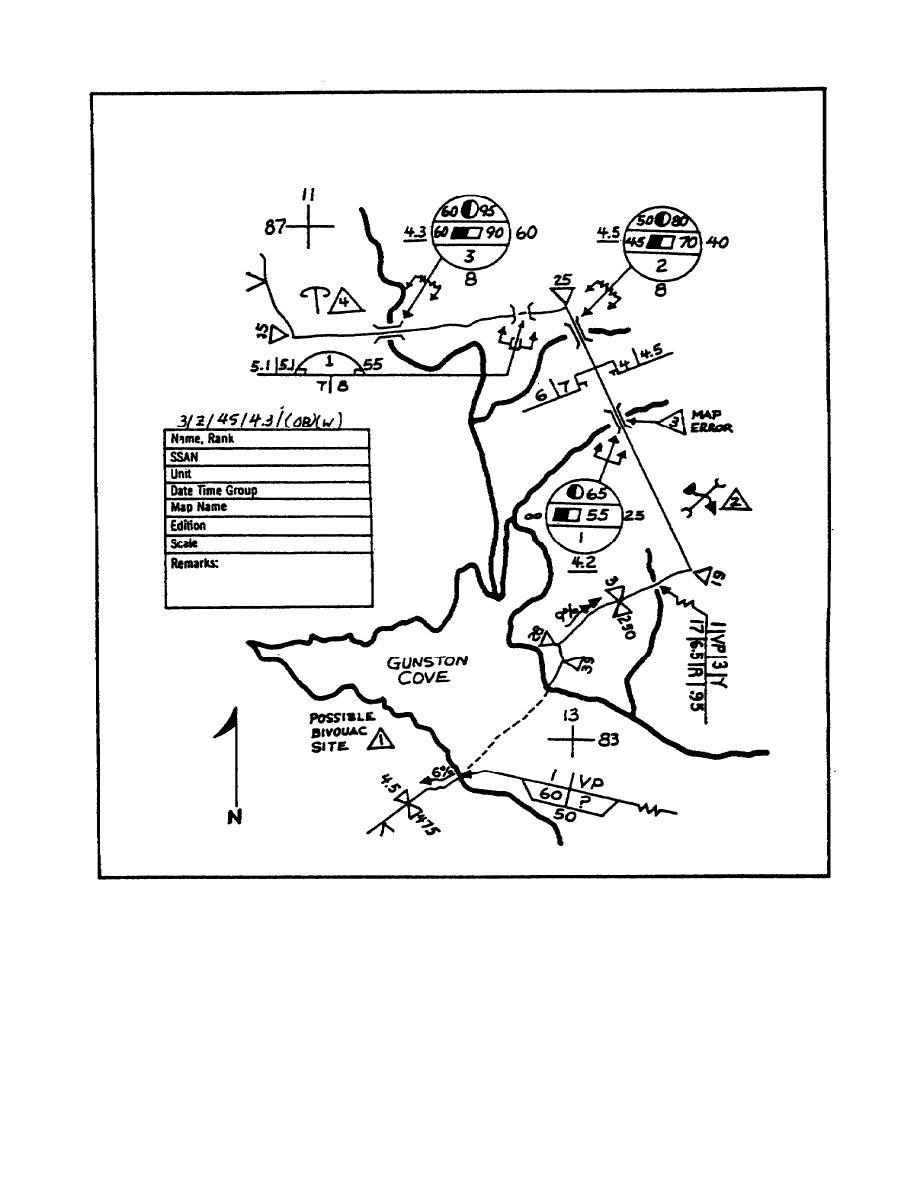 Figure 2-1 Route Reconnaissance Overlay