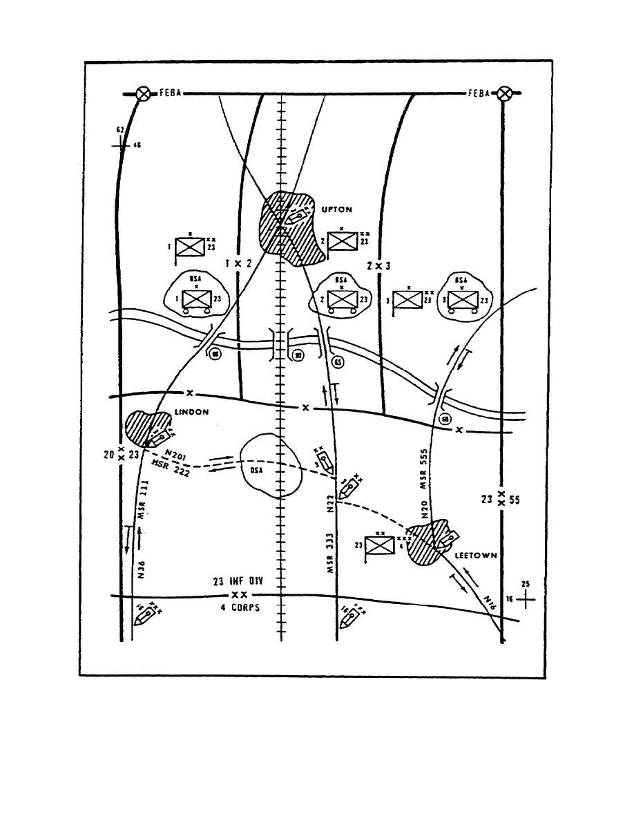 Figure 1-3. Sample Traffic Circulation Plan.