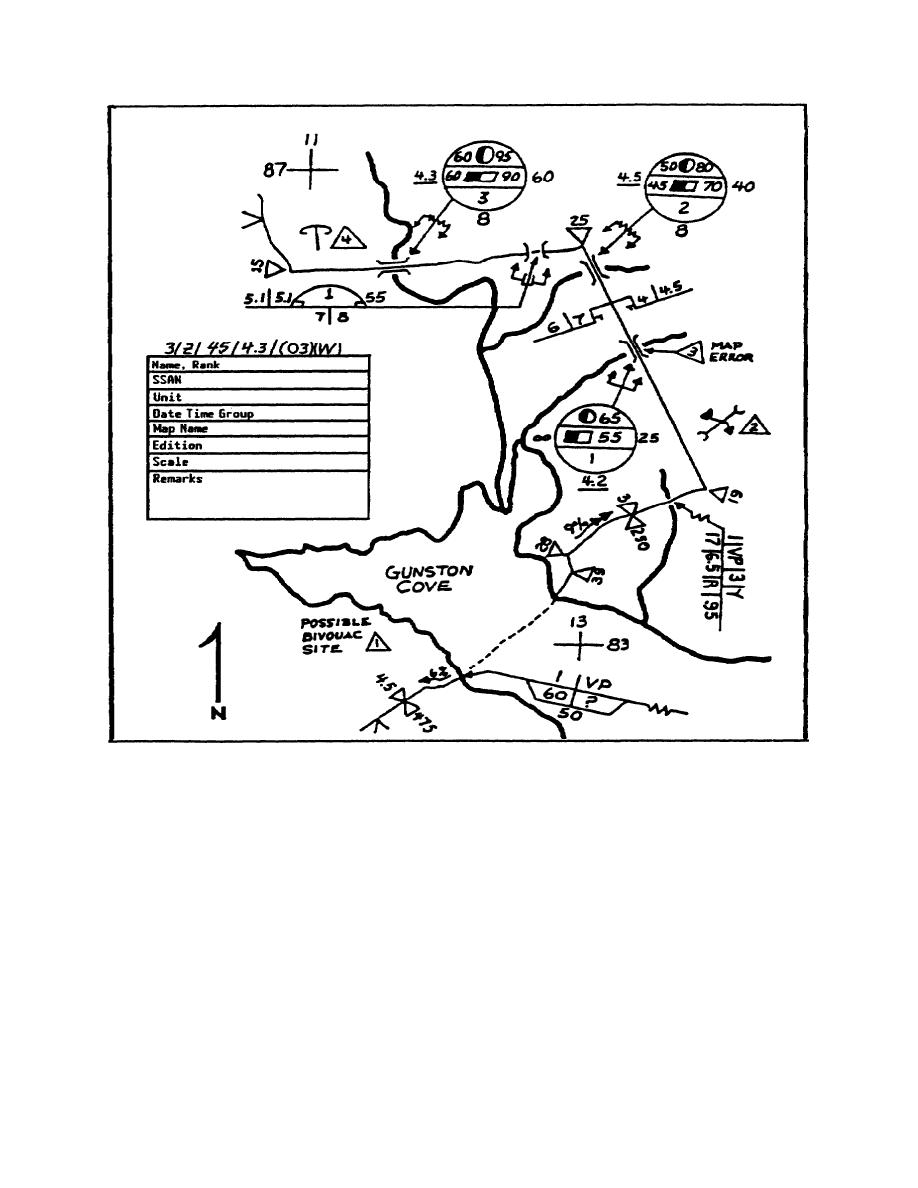Figure 2-4. Sample Route Reconnaissance Overlay