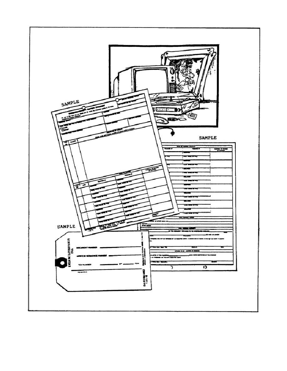 Figure 2-5. DA Form 4137 and 4002.