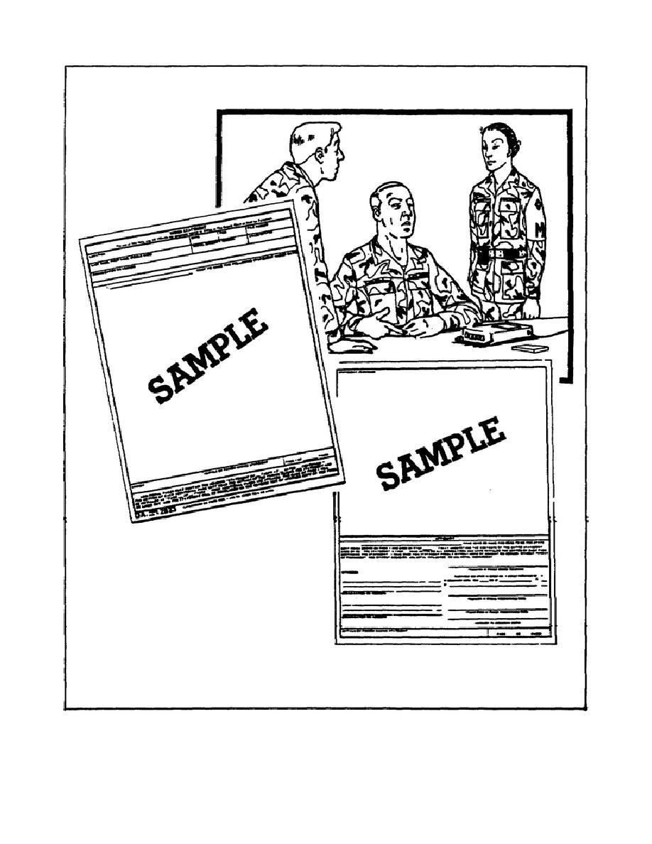 Figure 3-1. DA Form 2823.