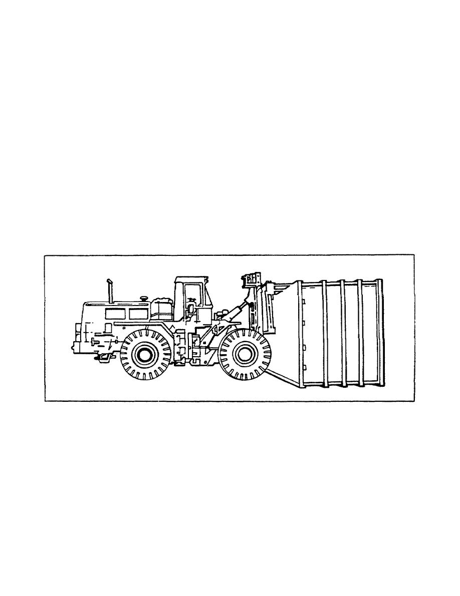 Figure 1-11. 50,000-pound Rough Terrain Container Handler