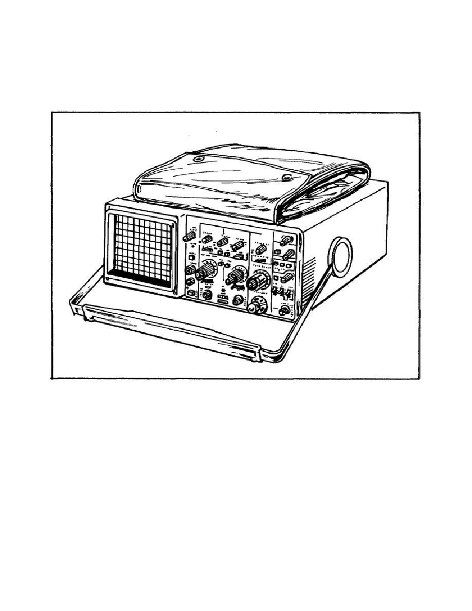 Oscilloscope AN/USM-488