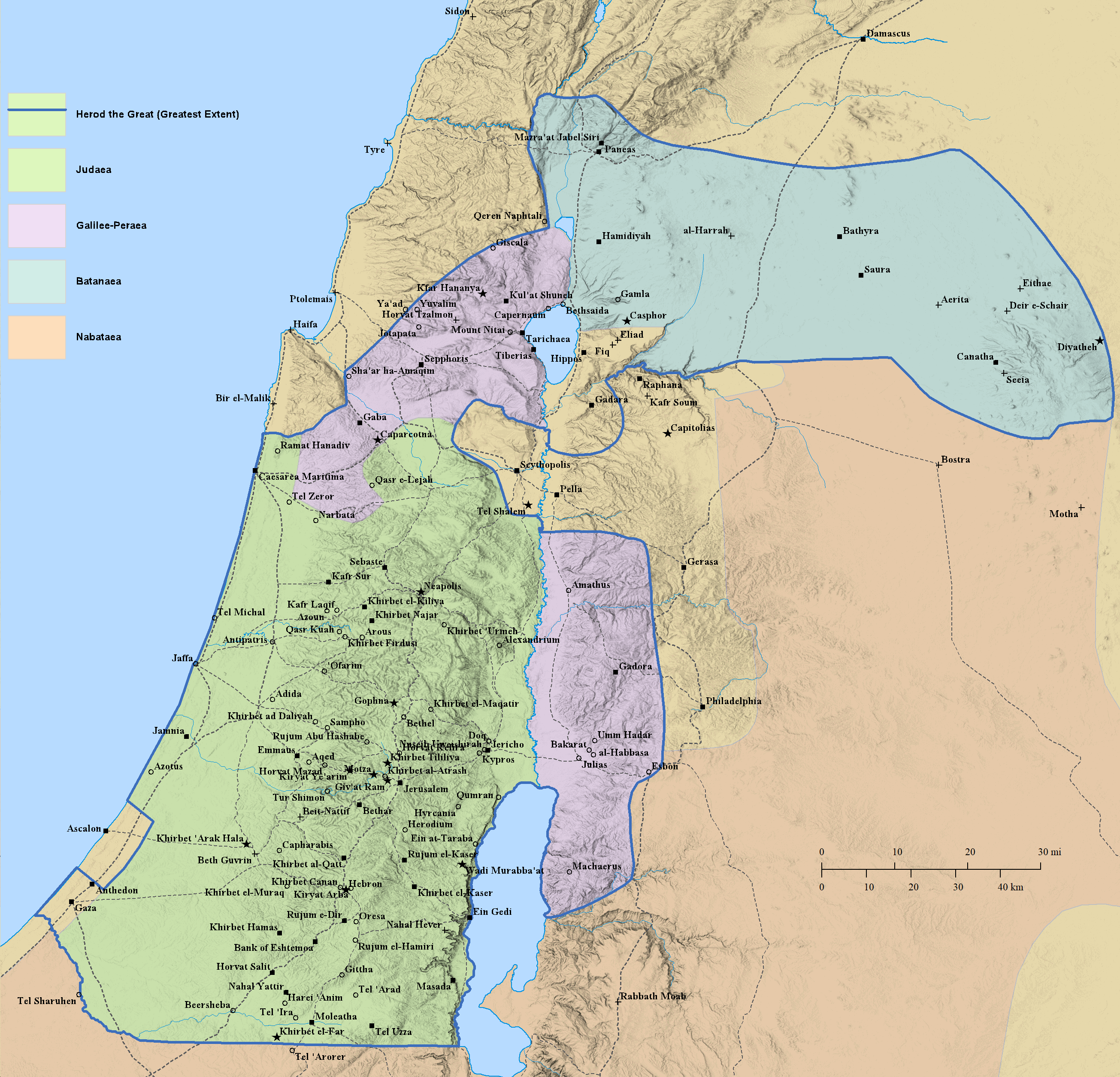 Map and Gazetteer – Database of Military Inscriptions and Papyri Kdumim Road Map West Bank on
