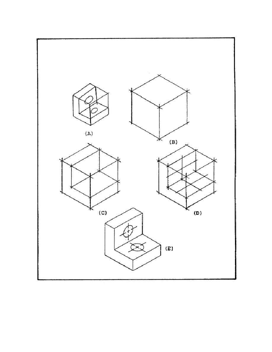 Figure 47. Solution to Isometric Drawing Problem Using an