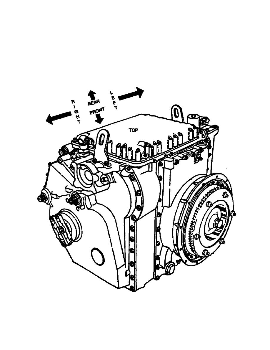 Figure 1-4. Assembled X200-4 Cross Drive Transmission.