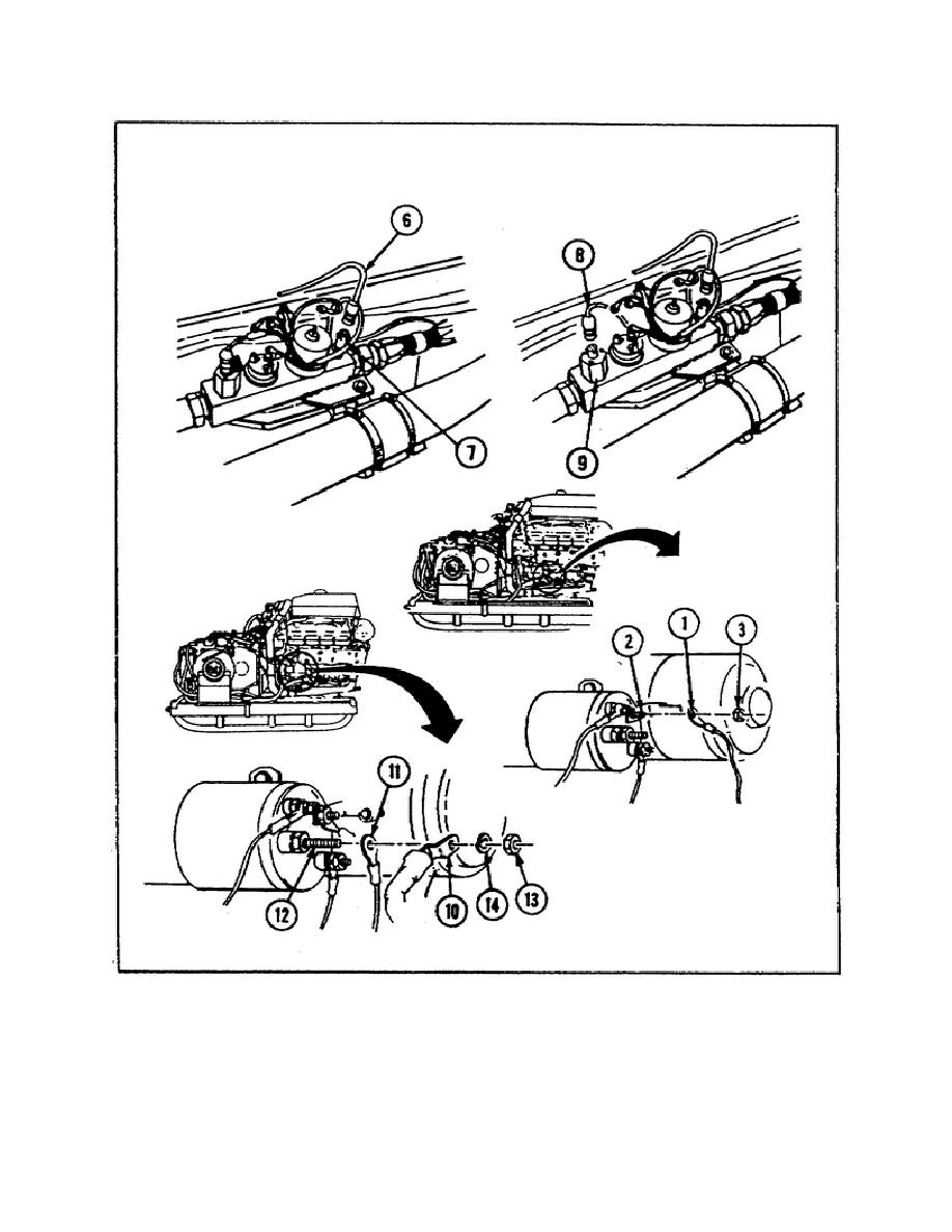Figure 13. Replacing Wiring Harness 3W1 Cont.