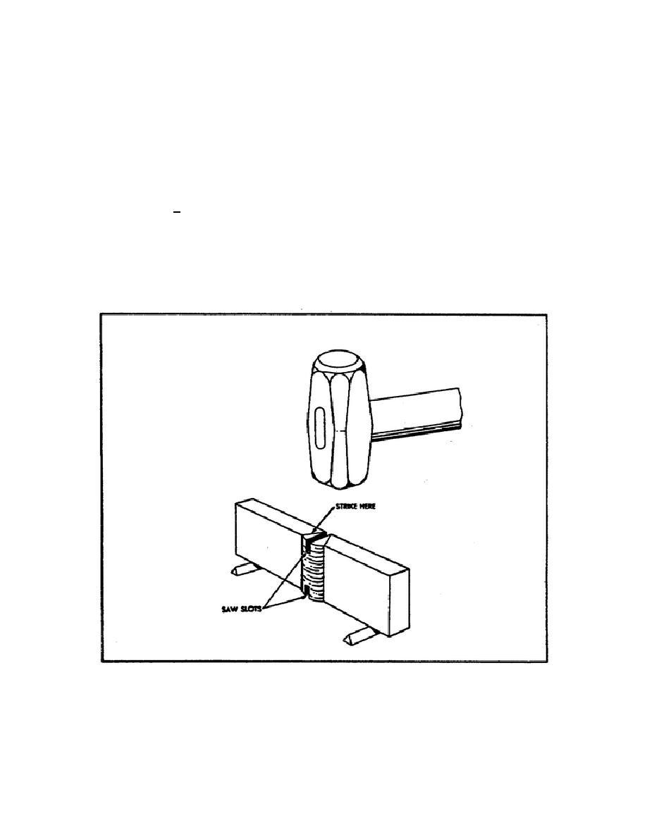 Figure 47. Nick Break Test.