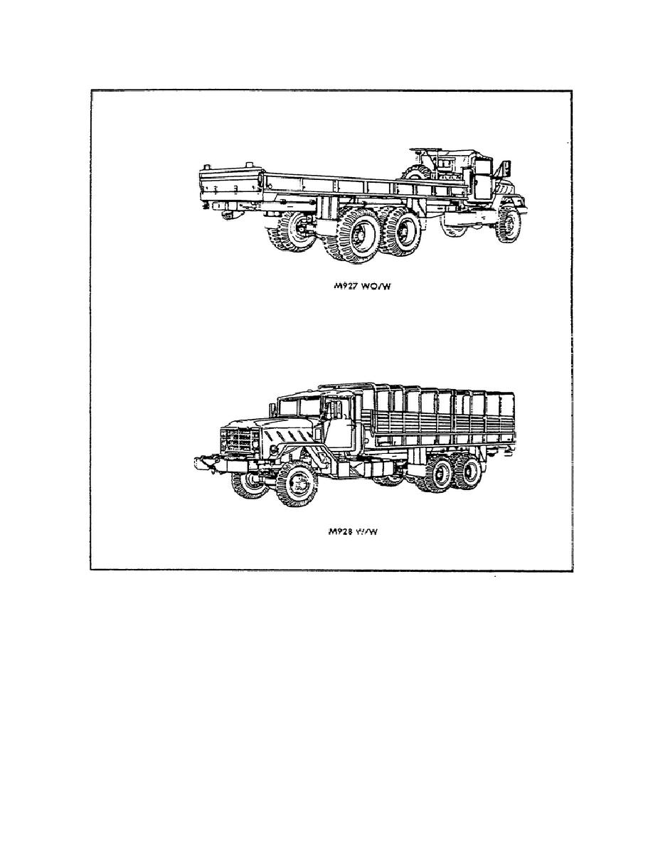 Figure 3. Cargo Trucks With Extra Long Wheel Bases