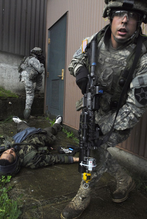 1 23 Inf. Situational Training Exercise Stx Northwest Guardian