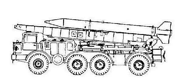 Frog-7 Frog-7b 9K52 9K21 Luna-M short range ballistic