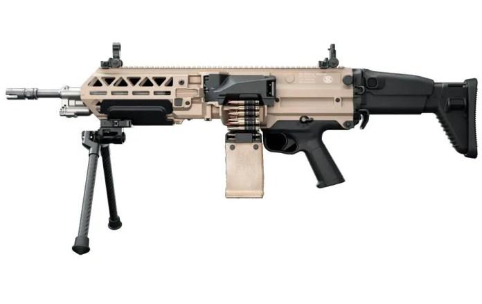FN Herstal launches its new FN EVOLYS ultralight machine gun 5.56 or 7.62mm calibers 925 002