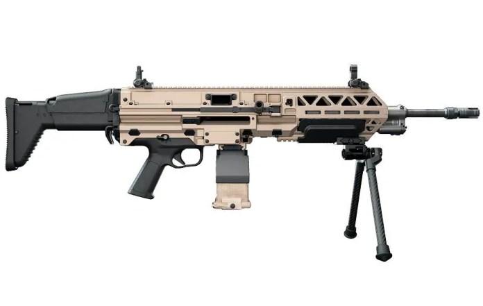 FN Herstal launches its new FN EVOLYS ultralight machine gun 5.56 or 7.62mm calibers 925 003