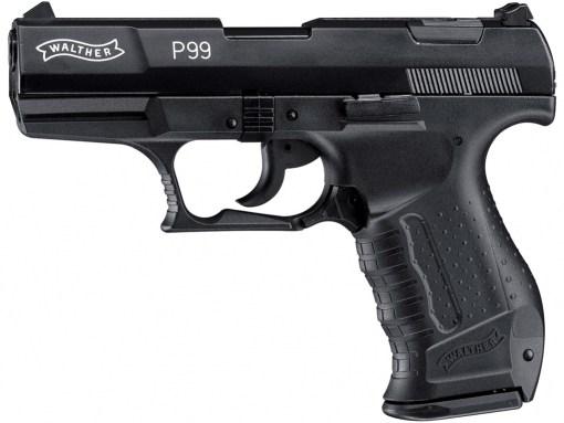 Plynová pištoľ Walther P99 čierna kal.9mm