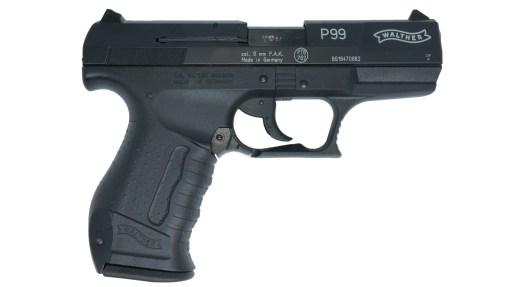 lynová pištoľ Walther P99 čierna kal.9mm