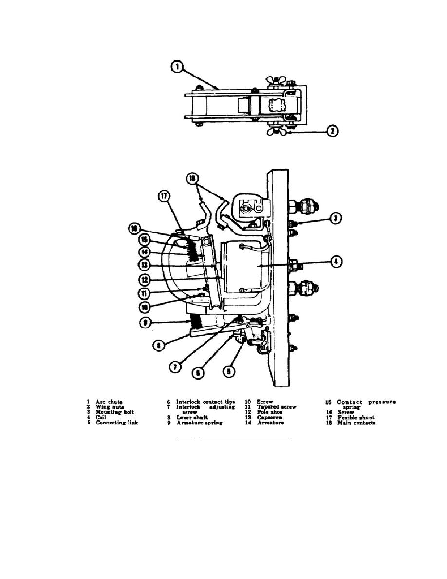 Figure 2.14. Engine Starting Contactor.\