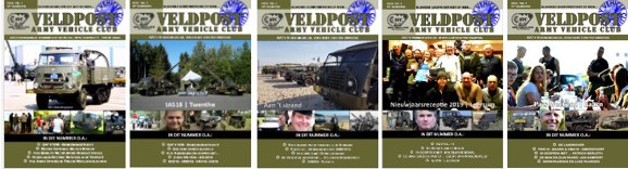 De Veldpost - kwartaalblad van de Army Vehicle Club