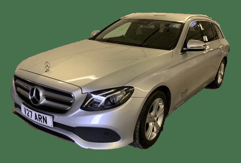 Mercedes E-Class Silver