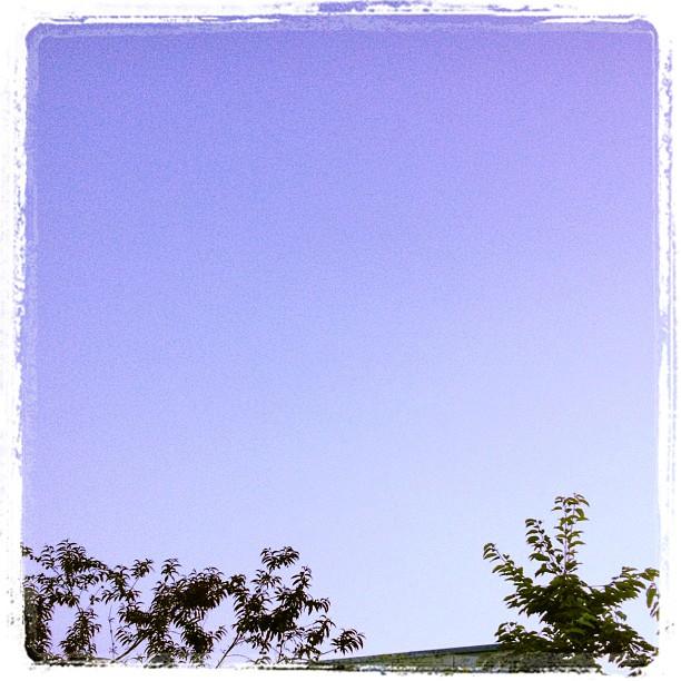 Schöner blauer Himmel :)