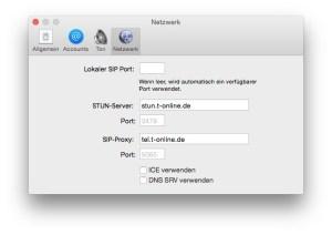 Telephone.app-Netzwerk