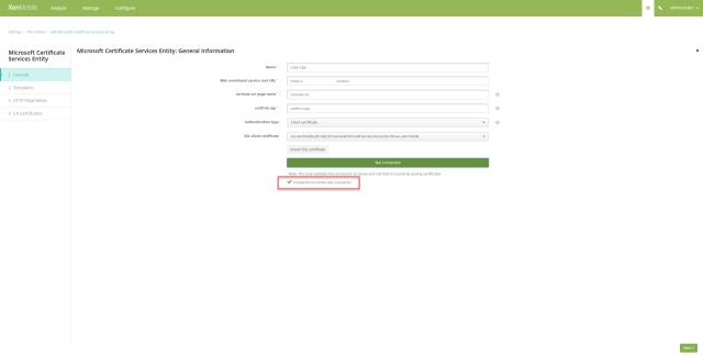 Citrix Endpoint Management on-premise: Certificate Based